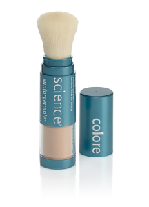 Free Sunforgettable brush cleaner with purchase of powder